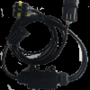 идентификации прицепа с использованием только существующих линий электропередачи постоянного тока